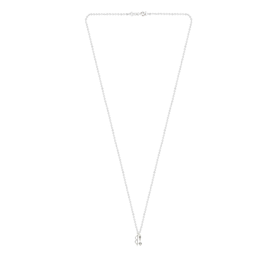 Sterling Silver Bow and Arrow Necklace, The Bow and Arrow