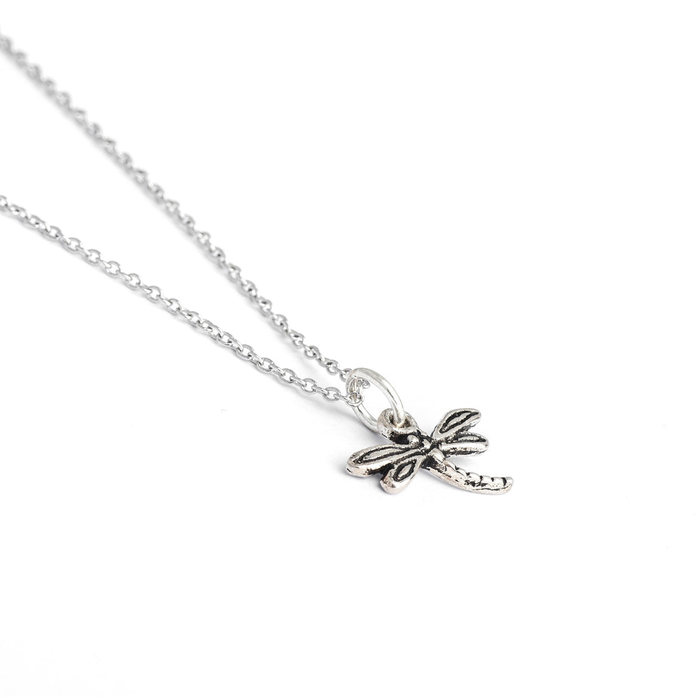 Sterling Silver Dragonfly Necklace, Dear Dragonfly