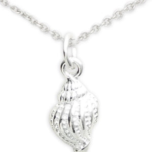 Sterling Silver Shell Necklace, Paradise