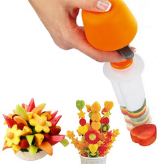 Push & Pop Fruit & Vegetable Shape Cutter SALE