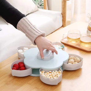 Rotating Dry fruit Serving Tray