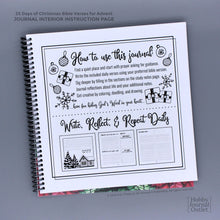 Load image into Gallery viewer, Advent Devotional Bible Study Journal for Women to Write in at Christmas