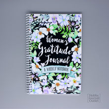 Load image into Gallery viewer, Watercolor Flowers Womens Gratitude Journal Christian Gift Notebook