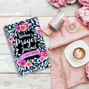 Christian Gift for Church Leaders and Teachers Spiral Bound Prayer Journal