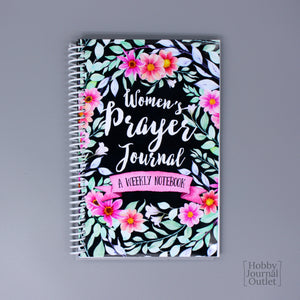 Pretty Spiral Bound Prayer Journal for Women and Teen Girls
