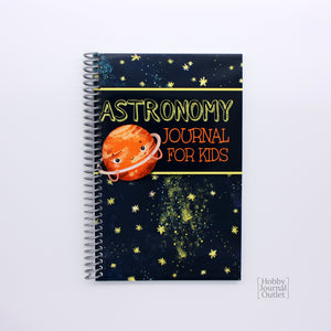 Astronomy Journal for Kids Spiral Bound Made in USA