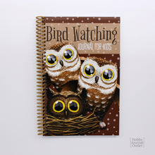 Load image into Gallery viewer, Birder Journal for Children to Explore the Outdoors Spiral Bound Made in the USA
