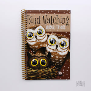 Birder Journal for Children to Explore the Outdoors Spiral Bound Made in the USA