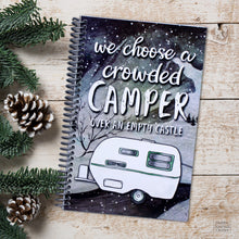 Load image into Gallery viewer, Full-time RV Families Mileage and Camping Journal for Campsites Made in the USA