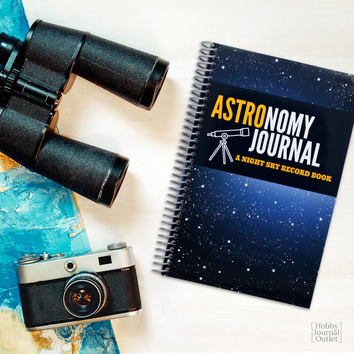 Astronomy Observations Journal Spiral Bound Made in USA Premium Quality