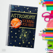Load image into Gallery viewer, Elementary Childrens Astronomy Observation Journal and Outdoor Adventures