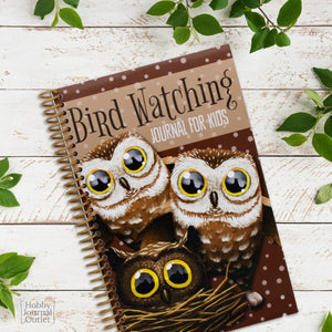 Cute Bird Watching Log and Record Book for Kids Birding Adventures