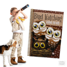 Load image into Gallery viewer, Boy Scouts Outdoor Adventures Bird Watching Log Spiral Bound Made in USA