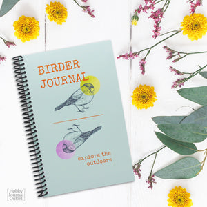 Birder Journal for the Modern Bird Watcher Spiral Bound Made in USA Premium Quality