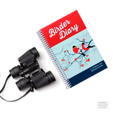 Load image into Gallery viewer, Birder Diary Journal for Birdwatching Premium Quality Made in the USA Spiral Bound Notebook