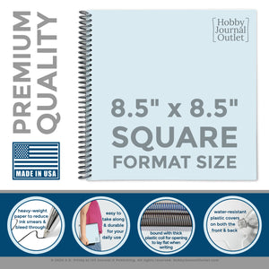 Premium Quality Made in the USA Spiral Bound Journal to Write In