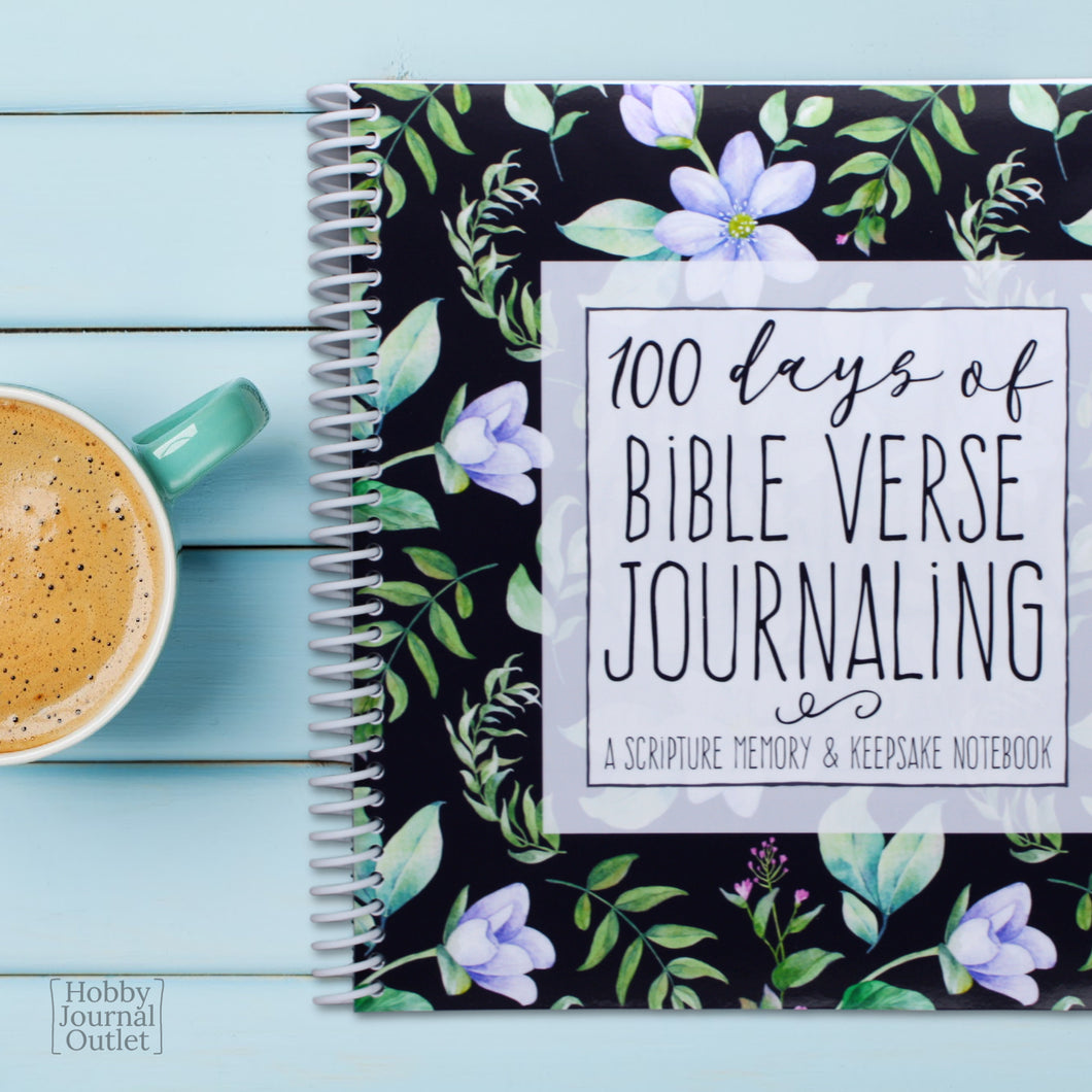 Daily Bible Verse Journal for Women Spiral Bound Devotional Book