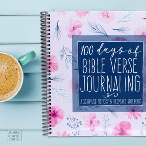 Scripture Memory Devotional Journal for Women Spiral Bound Made in USA