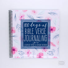 Load image into Gallery viewer, Daily Bible Verse Devotional Journal for Women and Teen Girls Spiral Bound