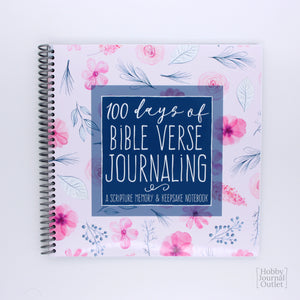 Daily Bible Verse Devotional Journal for Women and Teen Girls Spiral Bound
