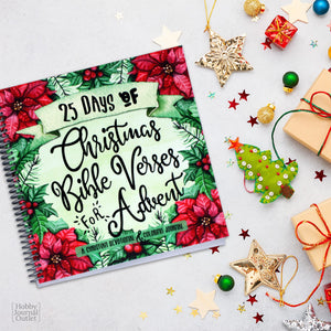 Christmas Advent Bible Devotional for Women to Write In