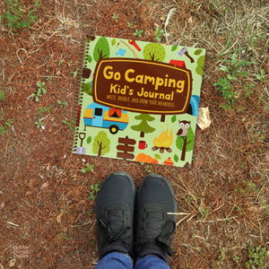 Boy Scouts and Girl Scouts Camping Journal for Logging Outdoor Adventures and Nature Hikes