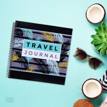 Load image into Gallery viewer, Tropical Travel Journal to Write in for Women with Spiral Binding Premium Quality