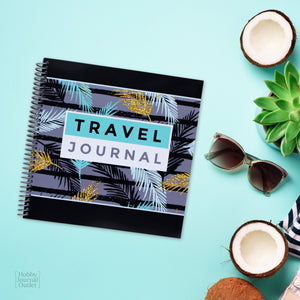 Tropical Travel Journal to Write in for Women with Spiral Binding Premium Quality