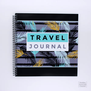Premium Quality Spiral Bound Travel Cruise Journal for Women