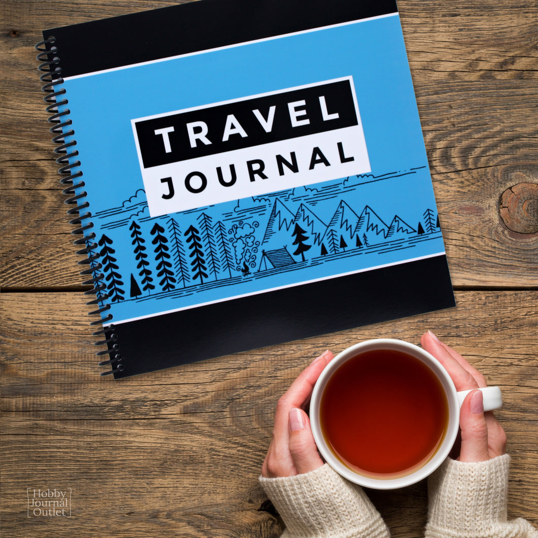 Made in the USA Spiral Bound Travel and National Parks Journal to Write In