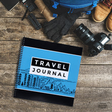 Load image into Gallery viewer, RV Adventures Spiral Bound Travel and RV Camping Journal to Write In