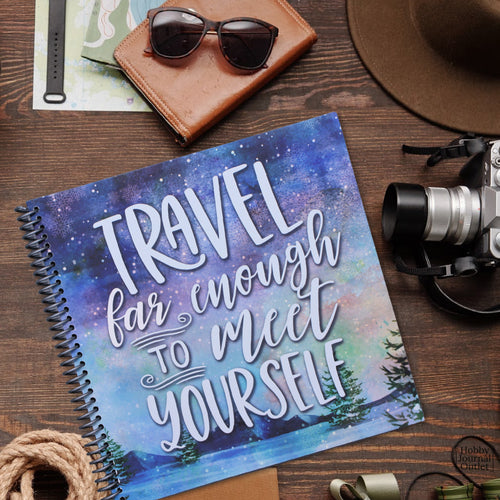 Travel Journal for RV Camping Fulltime Lifestyle Made in the USA Spiral Bound Book