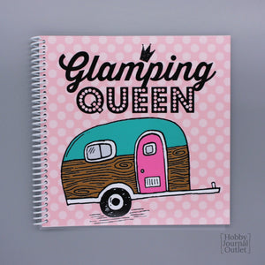 Funny Retirement Gift Travel Journal for Women to Write in RV Camping Adventures