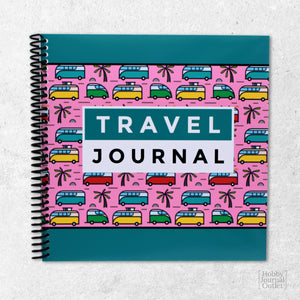 Fulltime RV Gift Travel Journal Camping Logbook for Couples and Families Campervan Road Trip