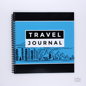 Made in the USA Spiral Bound Travel and RV Camping Journal to Write In for Full Time RVers