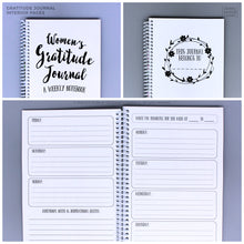 Load image into Gallery viewer, Gratitude Journal for Women One Year