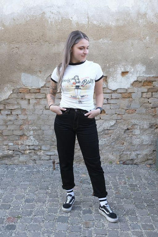 Vintage High Waist Jeans »Melly«