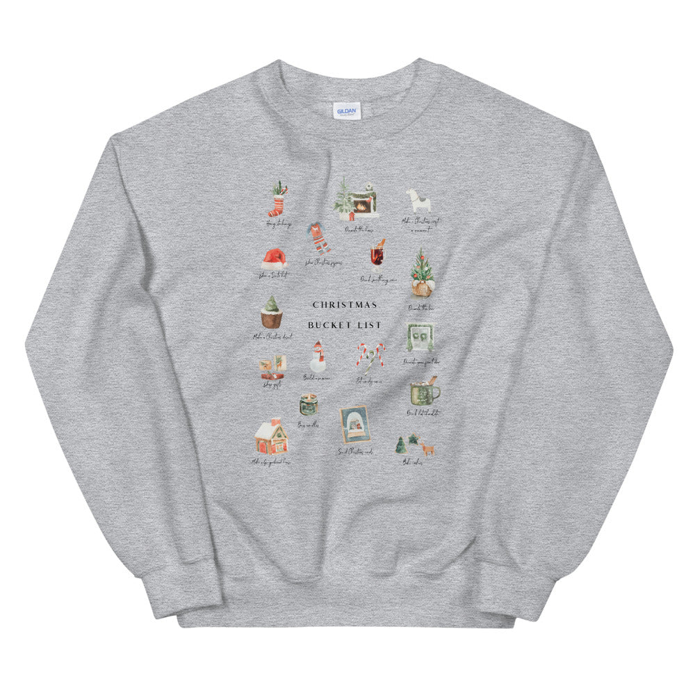 Bucket List Sweatshirt