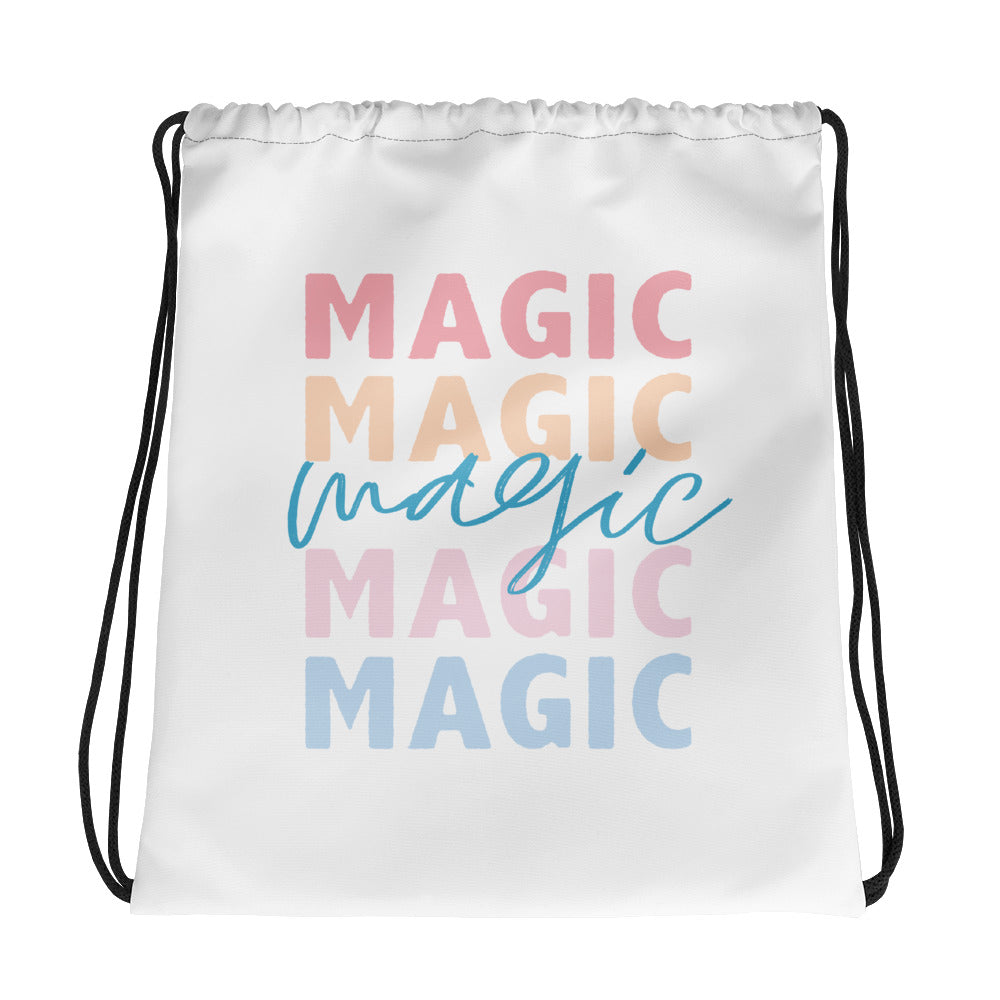 Magic drawstring bag