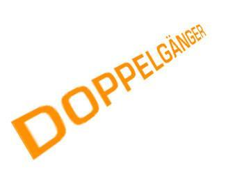Doppelganger | The Gerry Anderson Store