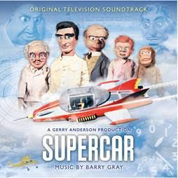 Supercar Soundtrack | The Gerry Anderson Store