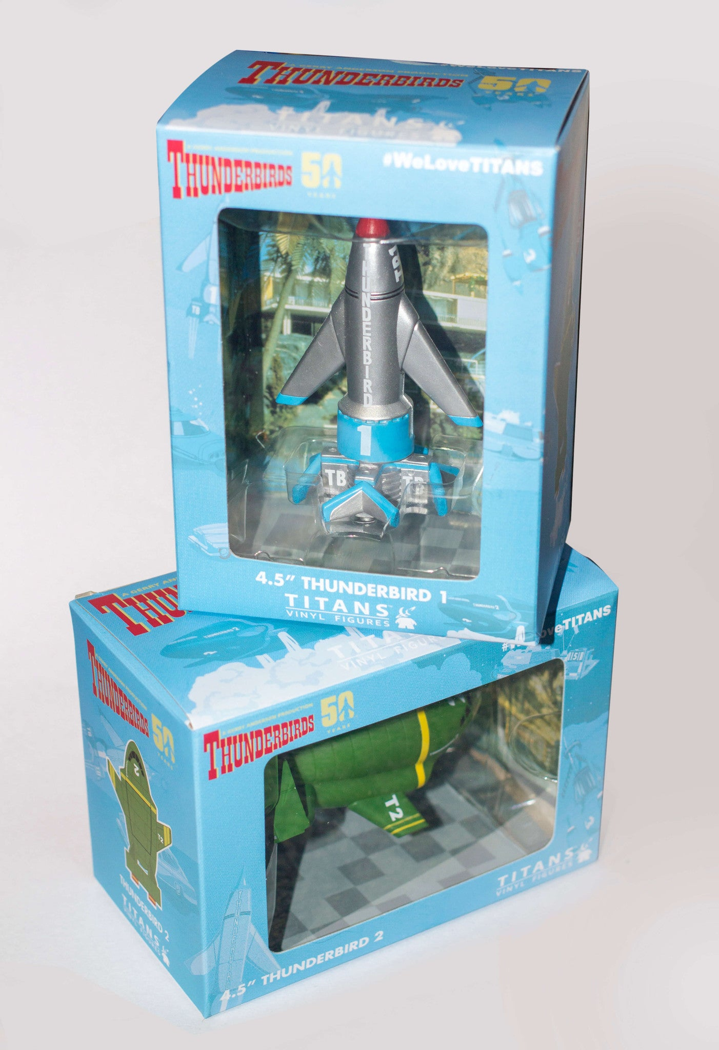 Thunderbird 1 and Thunderbird 2 Titans