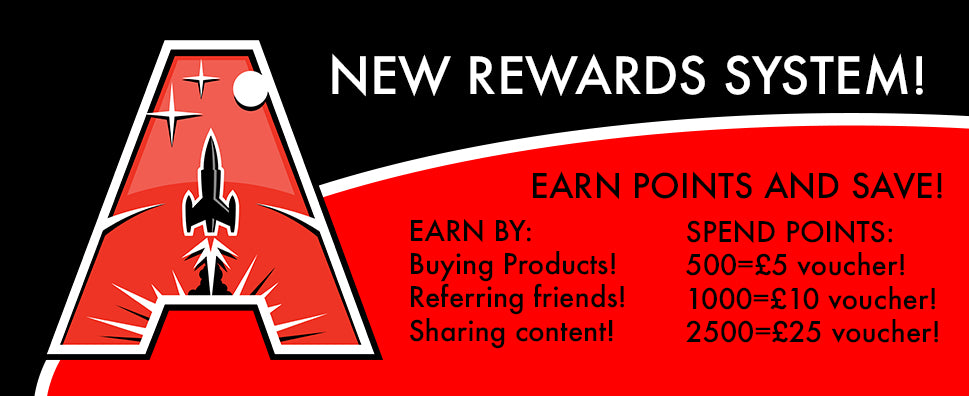 Gerry Anderson store loyalty reward scheme