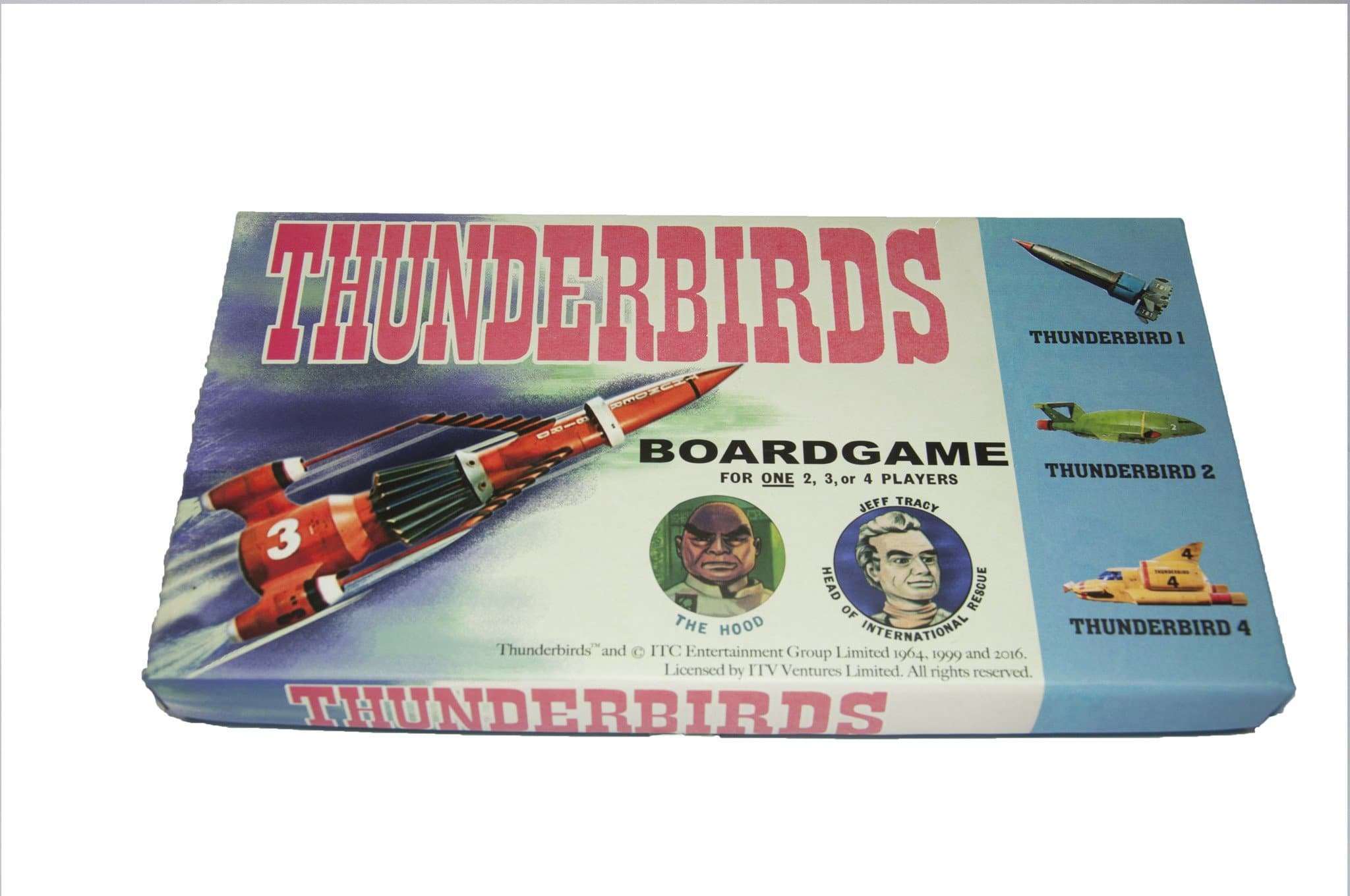 Thunderbirds Board Game - Gerry Anderson Official - 1