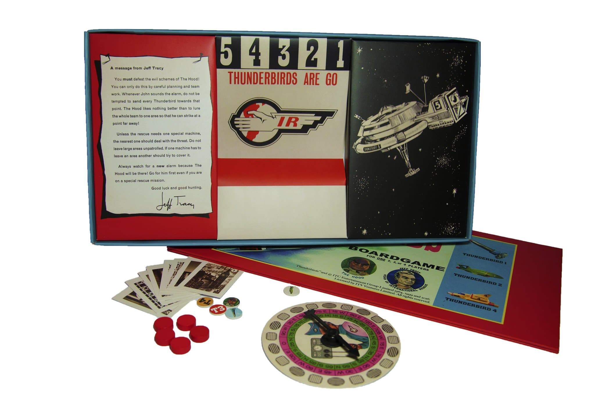 Thunderbirds Board Game - Gerry Anderson Official - 2