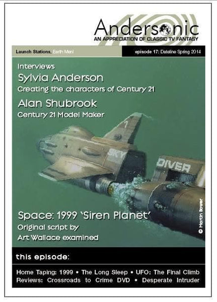 Andersonic Fanzine - Issue 17 (Spring 2014) - The Gerry Anderson Store