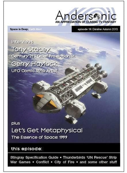 Andersonic Fanzine - Issue 16 (Autumn 2013) - The Gerry Anderson Store