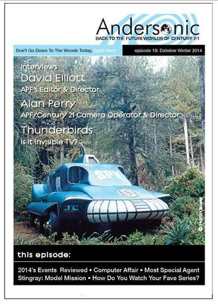 Andersonic Fanzine - Issue 18 (Winter 2014) - The Gerry Anderson Store