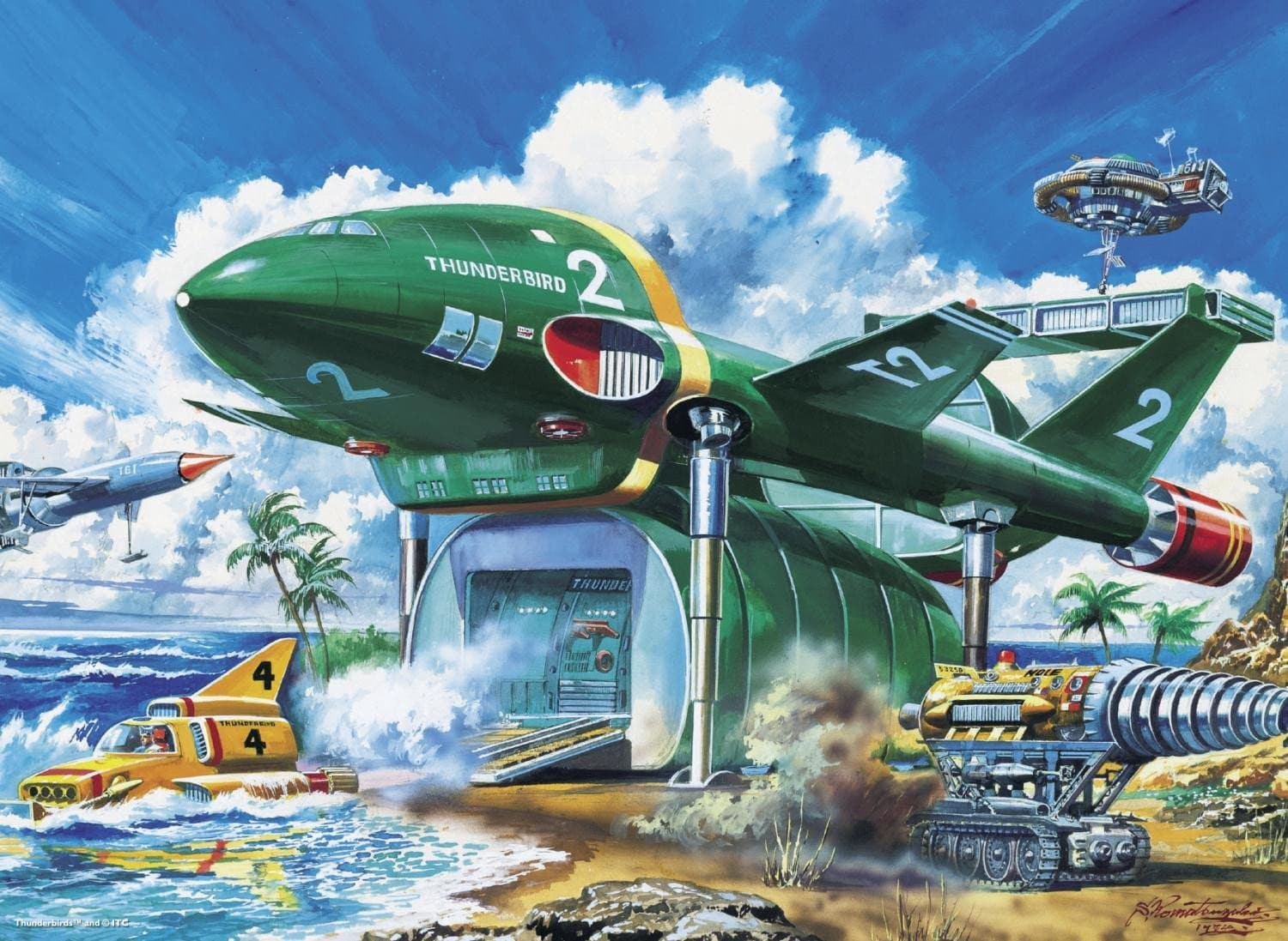 Thunderbirds 100XL Piece Jigsaw Puzzle - Gerry Anderson Official - 3