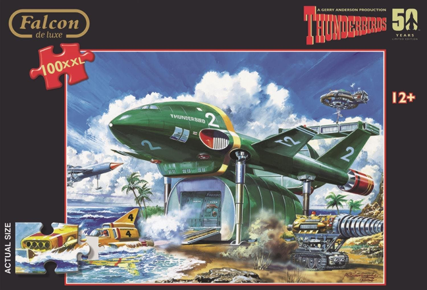 Thunderbirds 100XL Piece Jigsaw Puzzle - Gerry Anderson Official - 2